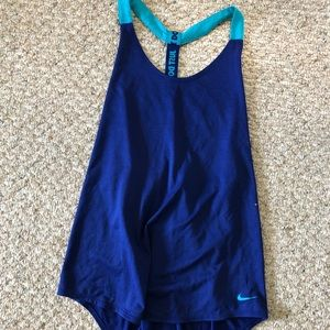 Nike dry fit tank top women's large